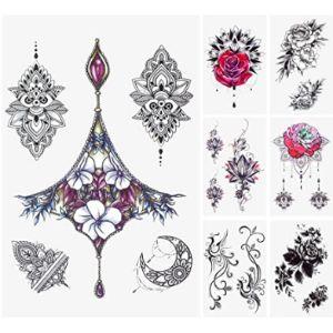 Glaryyears Chest Henna Tattoo