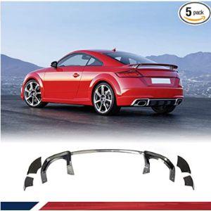 Jc Sportline Audi Tt Rear Bumper Diffuser