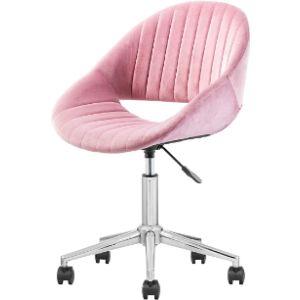 Xizzi Velvet Rolling Chair