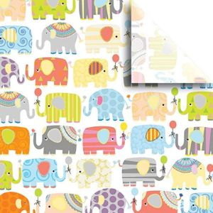 Color Of Rainbow Elephant Tissue Papers