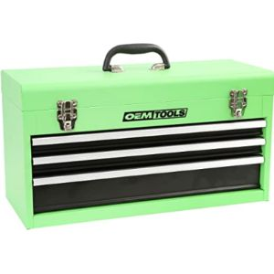 Oem Tools 3 Drawer Steel Tool Box