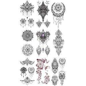 Pinone Neck Henna Tattoo