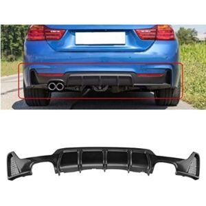 Motorfansclub Carbon Fiber Rear Bumper Diffuser