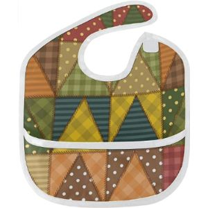 Movtba Quilted Baby Bib