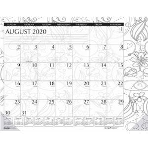 House Of Doolittle Coloring Desk Pad Calendars