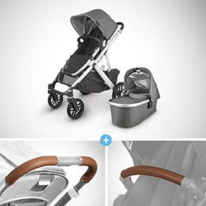Leather Handlebar Cover Uppababy Vista