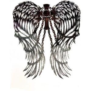Parita Waterproof Tattoos Design Angel Tattoo
