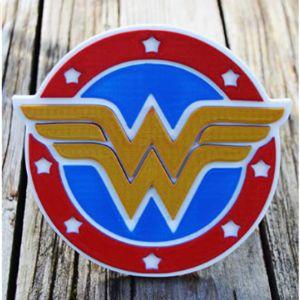 Kalahui Legacy Wonder Woman Trailer Hitch Cover