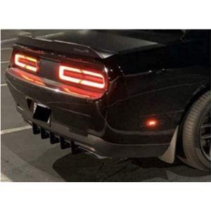 Authority Motorsport Llc Challenger Rear Bumper Diffuser
