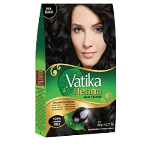 Vatika Naturals Henna Hair Color Black