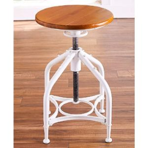 The Lakeside Collection Adjustable Stool Industrial