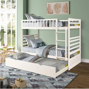 Visit The Merax Store Safety Cover Bunk Bed Ladder