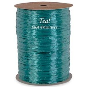 Rightway Teal Raffia Ribbon