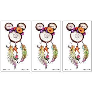 Parita Waterproof Tattoos Dreamcatcher Tattoo Design