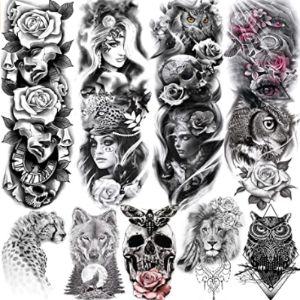 Rejaski Design Owl Tattoo