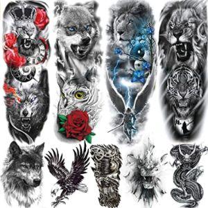 Rejaski Lion Tattoo Design