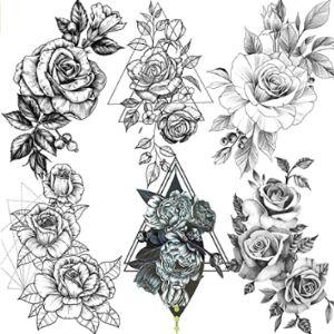 Fanrui Upper Back Tattoo Design
