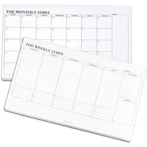 Newbested Desk Calendar Notepad