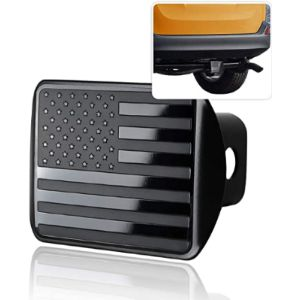 Zonetech Black Trailer Hitch Cover