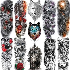 Nezar Tattoo Design Tiger