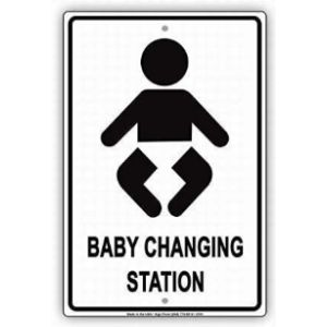 Uomitiansgd Restaurant Baby Changing Station