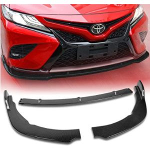 Eparts-Gogogo Carbon Fiber Front Bumper Lip Splitter