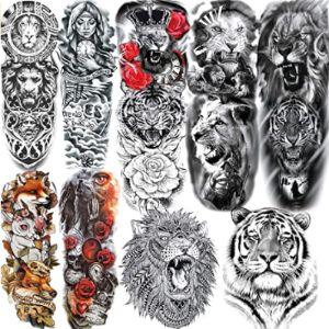 Alisa Tattoo Design Tiger