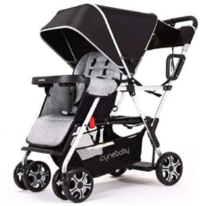 Inbaby Baby Stroller With Toddler Stand