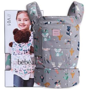 Bebamour Childrens Doll Carrier