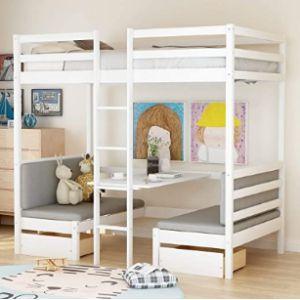 Meritline Dorm Bunk Bed Ladder