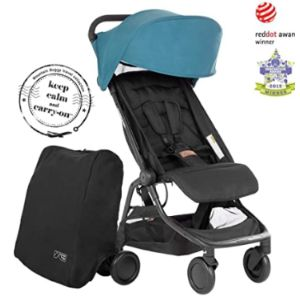 Mountain Buggy Lightweight Stroller With Car Seat Adaptor
