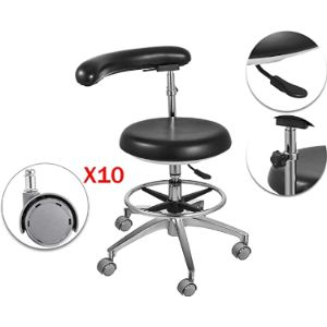 Zgood Medical Stool With Backrest