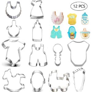 Tosparty Baby Bib Cookie Cutter
