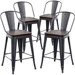 Aklaus Metal Stool Chair