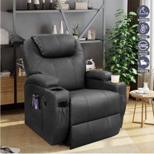 Furniwell Swivel Chair Footstool