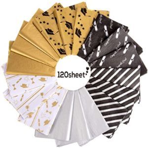 Whaline Metallic Bulk Tissue Paper