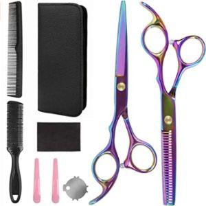 Mansso Professional Hair Scissors Kit