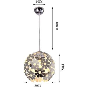 Zq&Qy Flower Ball Chandelier
