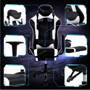 Payhere Rolling Recliner Chair