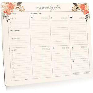 Smart Planner Desk Calendar Notepad
