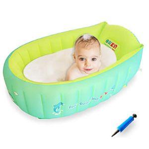 Hepester Large Toddler Inflatable Bathtub