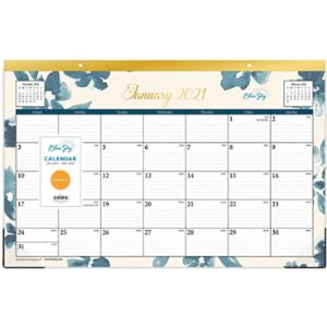 Blue Sky Professional Desk Blotter Calendar
