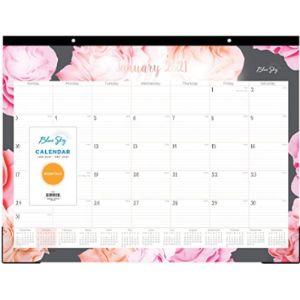 Blue Sky Elegant Desk Blotter Calendar