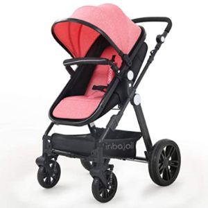 Nobrand Pink Toddler Stroller