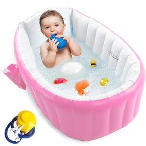 Ezycok Large Toddler Inflatable Bathtub