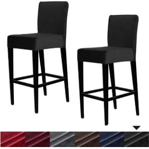 Lushvida Bar Stool Chair Cover