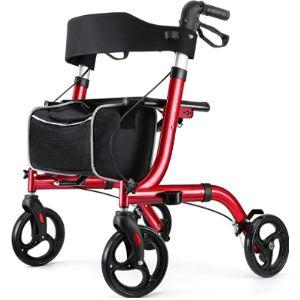 Rinkmo Rolling Walker Transport Chair