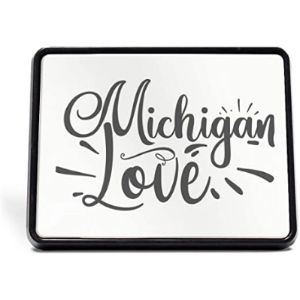 Style In Print Michigan Trailer Hitch Cover