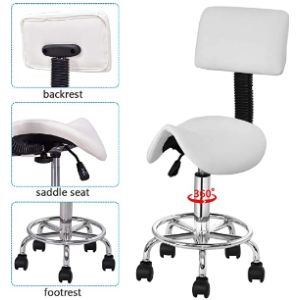 Safeplus Saddle Chair Stool