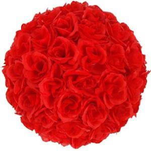 Generies Red Flower Ball